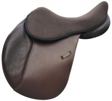 "Acavallo Gel Seat Saver ""ORTHO-COCCYX"" with DriLex (Textile) Upper Side, brown"