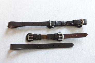 Lateral Attachment Straps with Elastic Inserts for Breastplate W&S