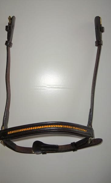 Drop Noseband for Icelandic Bridles, Leather