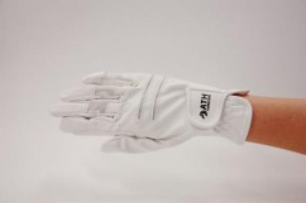 Riding Gloves, unisex, white